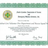 NCAREMS Certificate